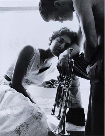 William Claxton - Halima and Chet Baker Redondo Bea