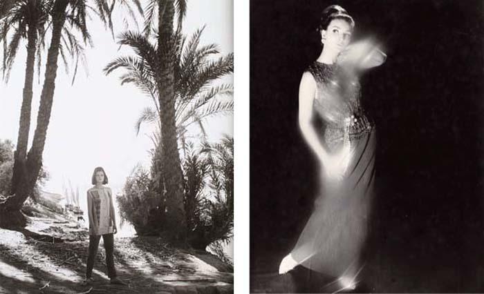 © Norman Parkinson Left: Queen Magazine, The Wilder Shores of Sheik, 1963 Right: Queen Magazine, December 1963, Jean Shrimpton wearing Dior
