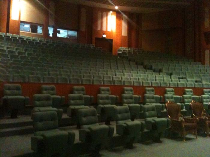 Inside the Abu Dhabi Theatre