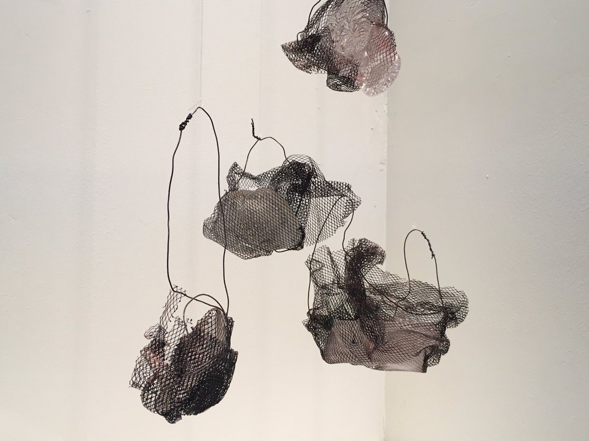 Fatima Albudoor 's work revolves around fiction and reality, relationships, the self and transient experiences in life.