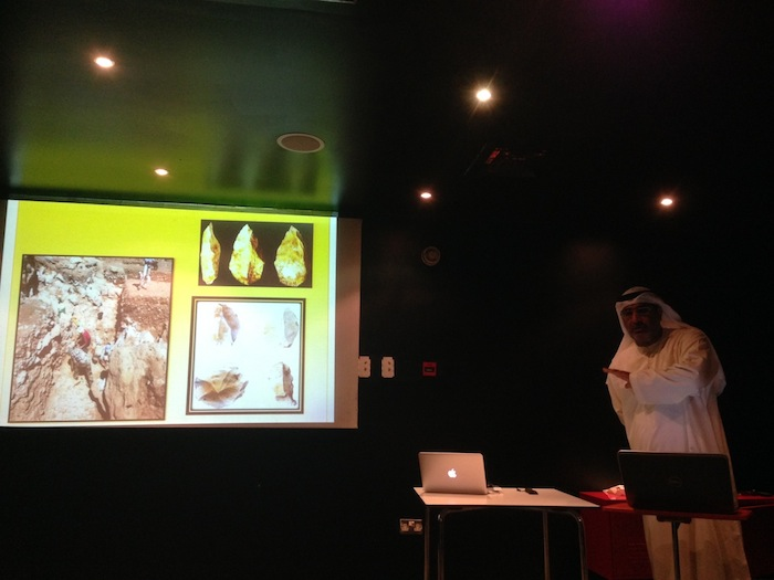 Eissa Abbas, archeologist from Sharjah Heritage Department