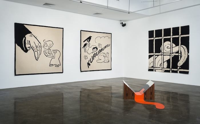 Language Arts, 2014 - Installation view at The Third Line, Dubai