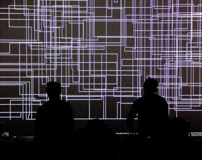 cyclo. (Ryoji Ikeda + Carsten Nicolai), 2011. YCAM Yamaguchi Center for Arts and Media
