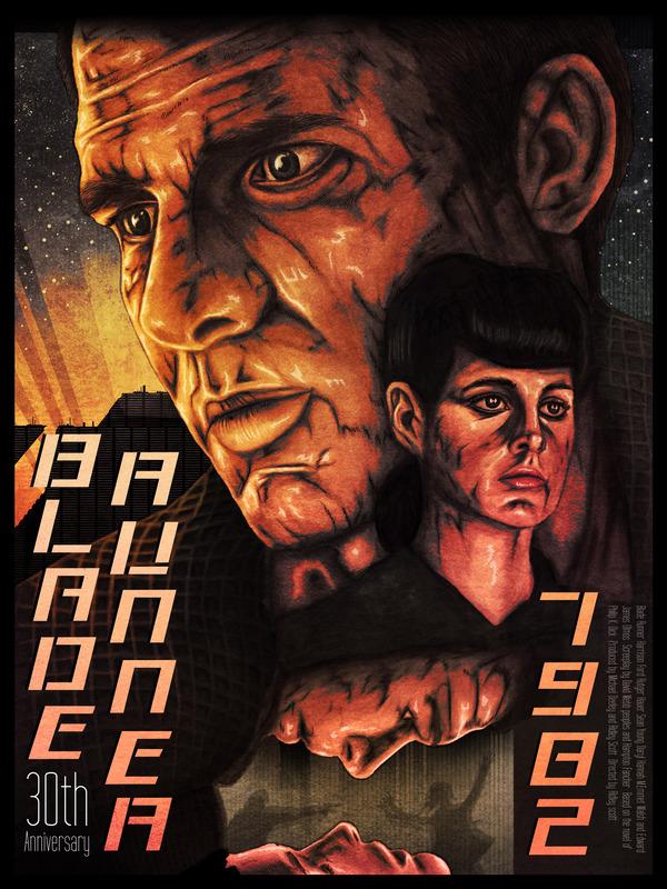 Blade-Runner 30th Anniversary by David Amblard