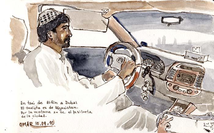 Taxi by Omar Jaramillo Traverso