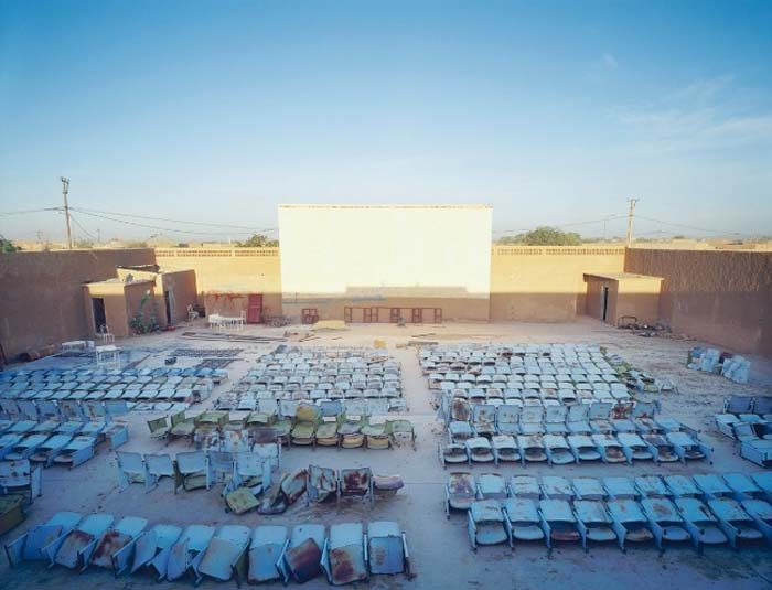 Abandoned theatre in Agadez. Northern Niger, 2010 © Philippe Dudouit