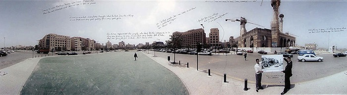 Beirut, Martyr Square 1977-2004 © Paul Gofferjé