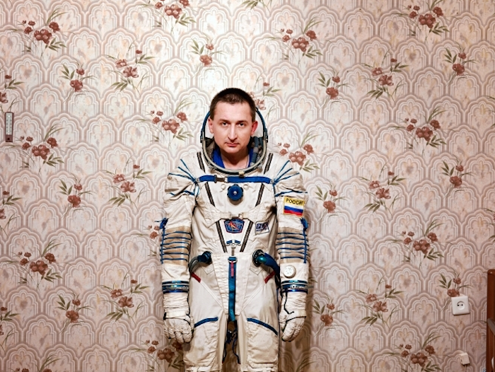 © Vincent Fournier - General Boris V. Naidvonov wearing the Russain Sapce suit Sokol. Star City, Youri Gagarine Cosmonaut Center, Chtchiolkovo, Russia, November 2007.