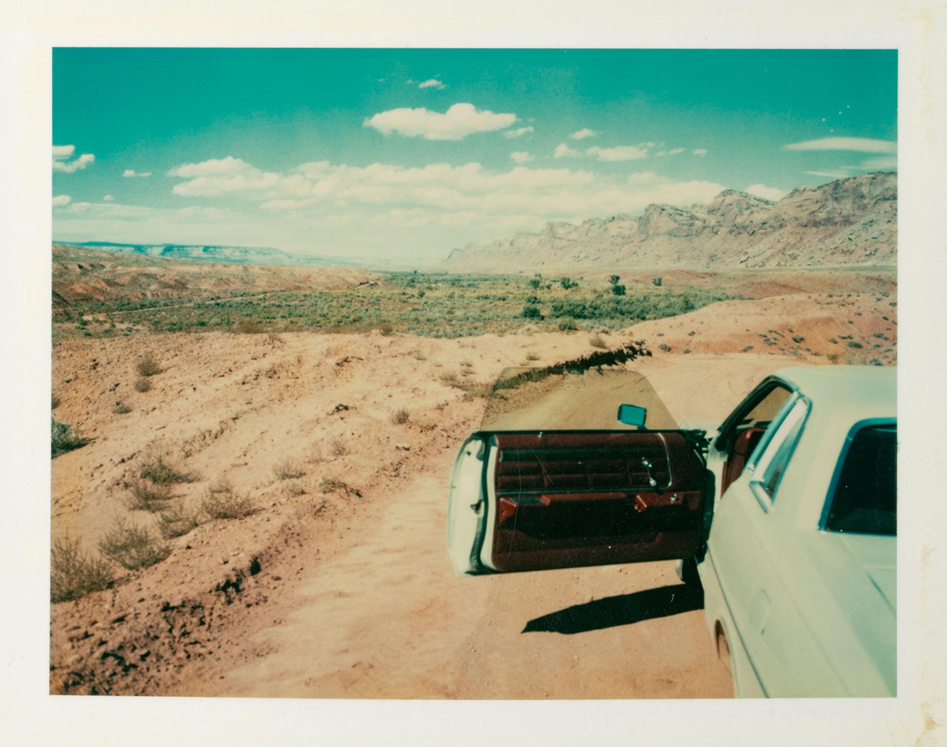 Valley of the Gods, Utah, 1977 © Wim Wenders Courtesy Deutsches Filminstitut Frankfurt