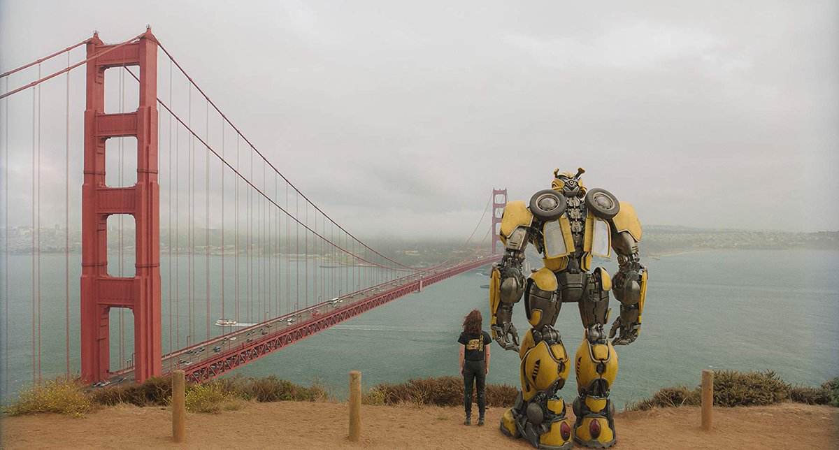 Bumblebee (Travis Knight, 2018)  Travis Knight has made a Transformers film that is coherent and a film I unexpectedly cared for. It's the 2010s E.T. but with more action and explosions which make sense, unlike the Bayhem versions we've had before.