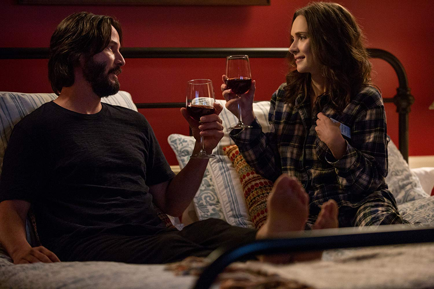 Destination Wedding (Victor Levin, 2018)  This had to be added on my list. It's Keanu Reeves AND Winona Ryder together in a film again. Great verbal jabs between the two of them. When it's funny, it's hilarious, but when it's not, it's slightly grating. A film that is cynical with a sprinkle of hope. Keanu has the best lines and delivery, and I'd watch it again for that reason alone.