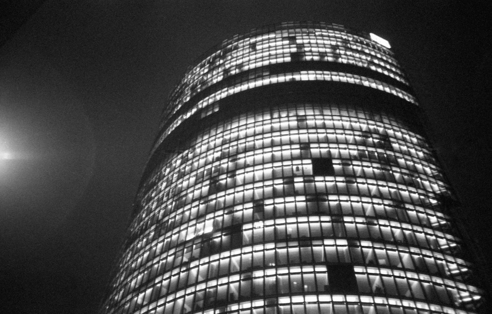 Feb 21 - Bahntower, Potsdamer Platz, Berlin