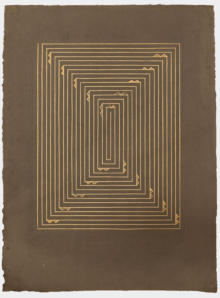 Zarina - The Golden Route, 1982, Courtesy of the artist and Luhring Augustine, New York.