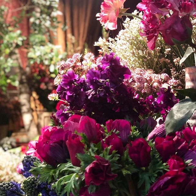 Beauty on the streets of Paris...can you beat it? #justperfect #favoritecity #inspiration #parisdesign #flowermarket #modernfurniture #collection #interiordesigner #grateful #colorpalette #somuchbeauty #maisonobjet #parisdecooff