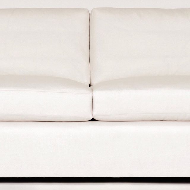 Our Jude Sofa. Simple yet luxe, with beautiful walnut detailing.  #whatsnew #customfurniture #interiordesign #luxurydesign #collection #favoritethings #welovewhatwedo #shoplinkinbio #seating #livingroomdesign