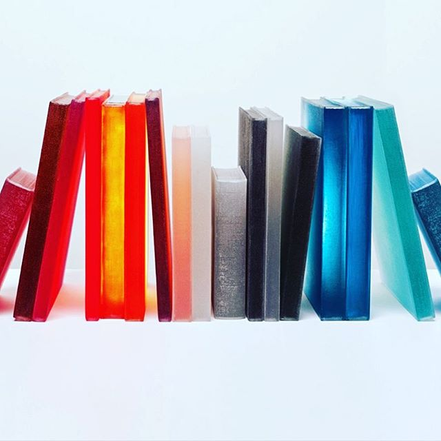 "Absolutely no surprise these delightful ""book"" sculptures come from the talented team @powellandbonnell. Whimsical yet sophisticated, and beautiful! In collaboration with @creatorsofobjects 😍 #art #books #styling #bookshelfdecor #lighting #colorpalette #interiordesign #productdesign #lovethis #inspired"