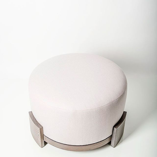 Our Coco Ottoman will always be a favorite. 📷 @susansorianophotography  #namesake #collection #modernfurniture #love #favoritethings #designer