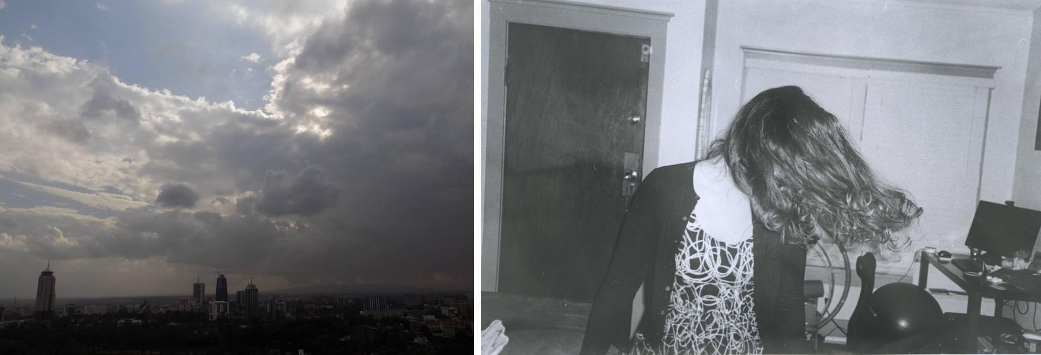 """Silvia (Nairobi) and Guisepi (Seattle) both had """"Moments"""""""