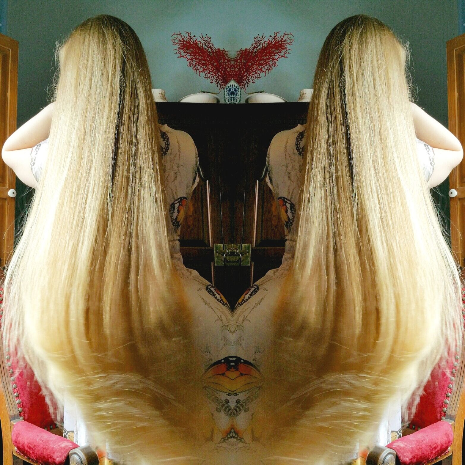 April Waltz,  Hair Swish