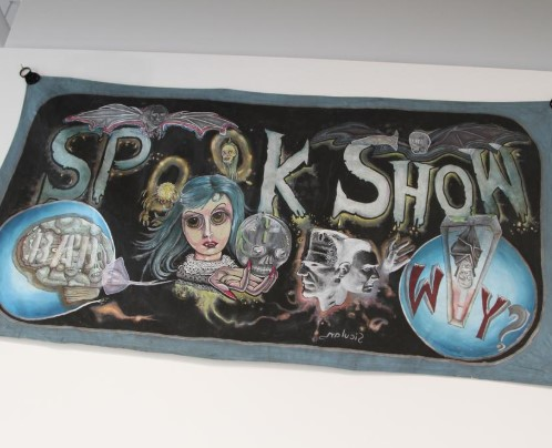"Mike Siculan, ""Spook Show"""