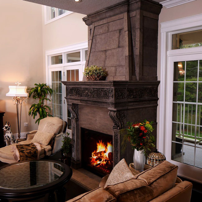 Fireplace Mantels - Learn More