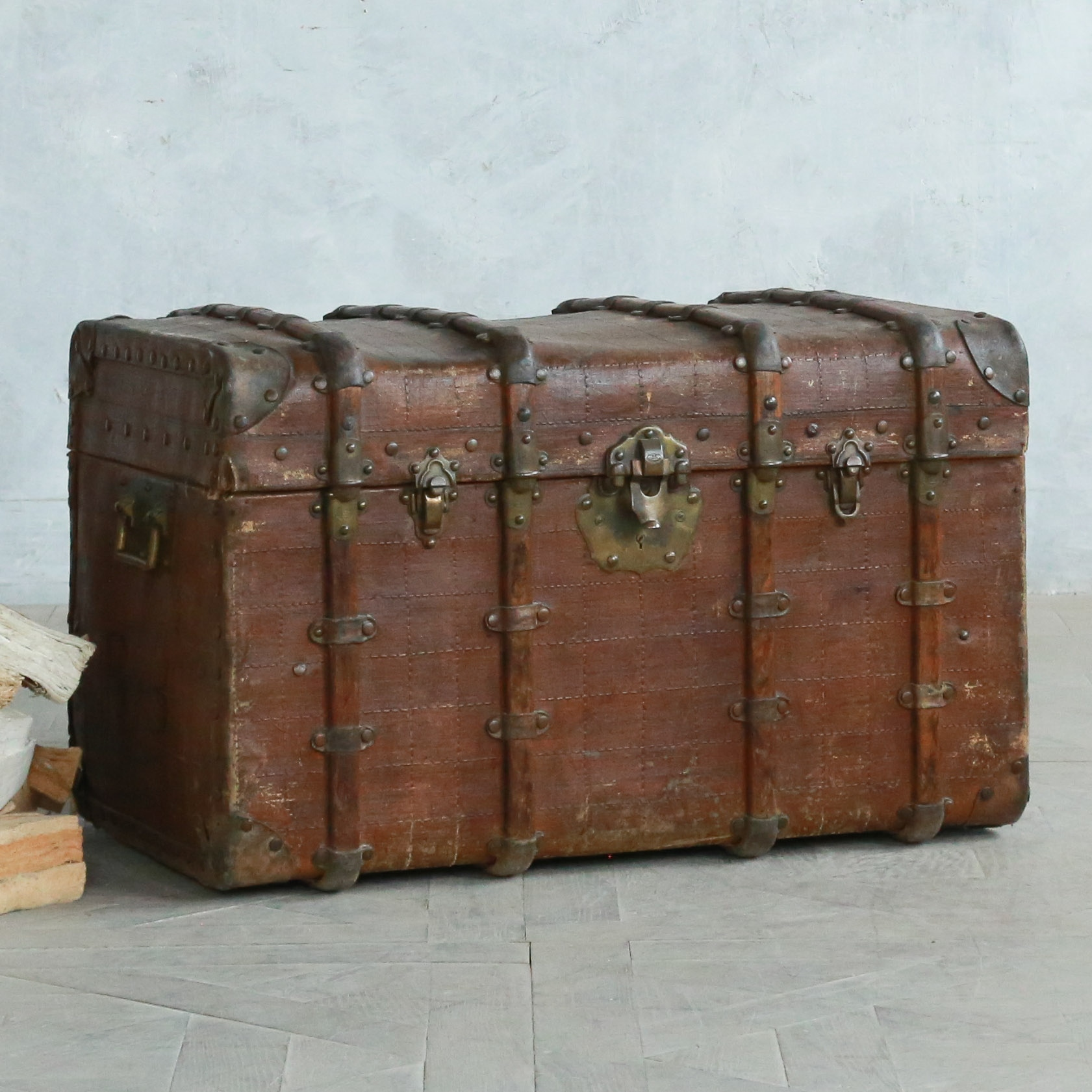 Antique all leather trunk.jpg