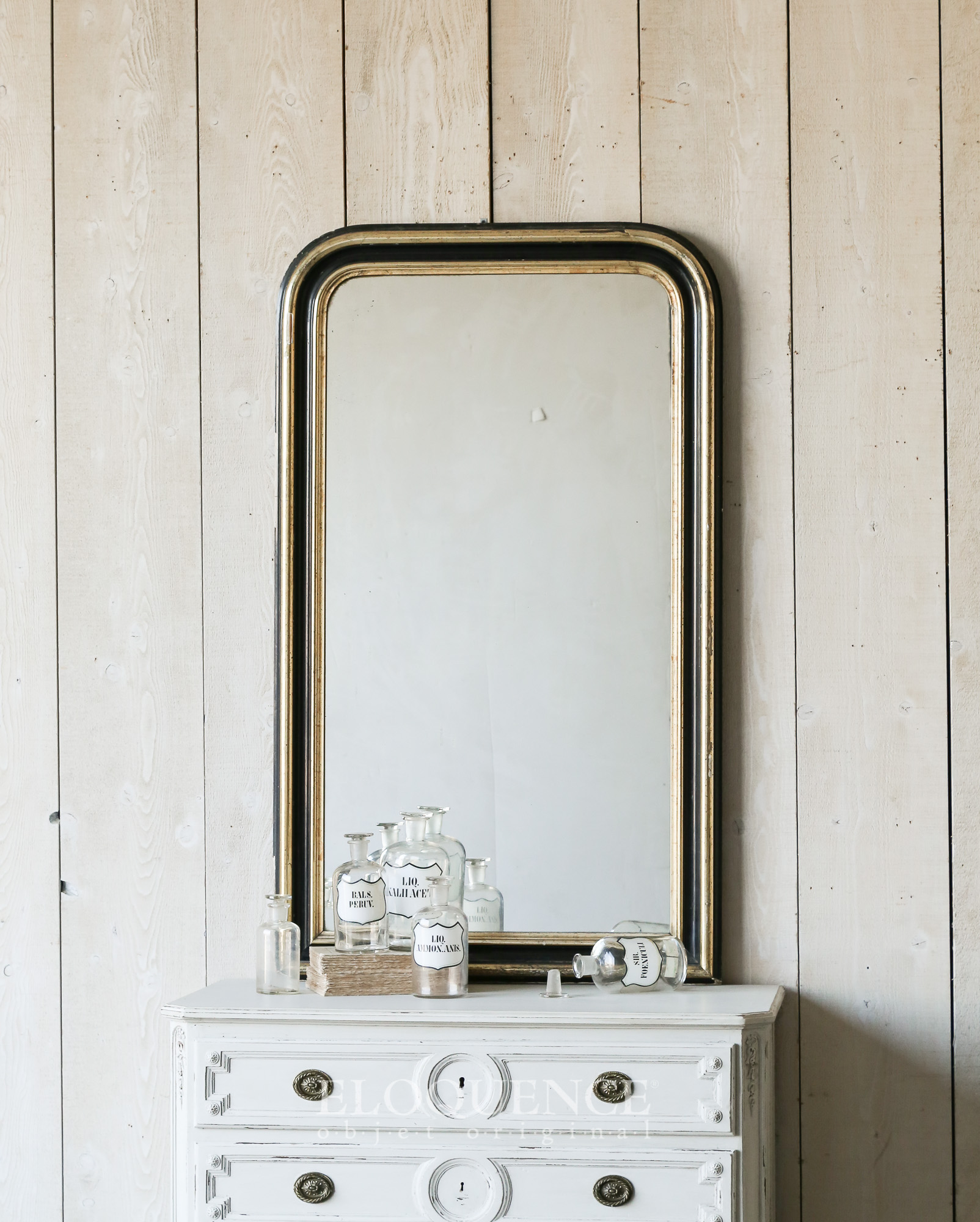 Antique French Mirror c1890 Louis Philippe 58x24x3.jpg