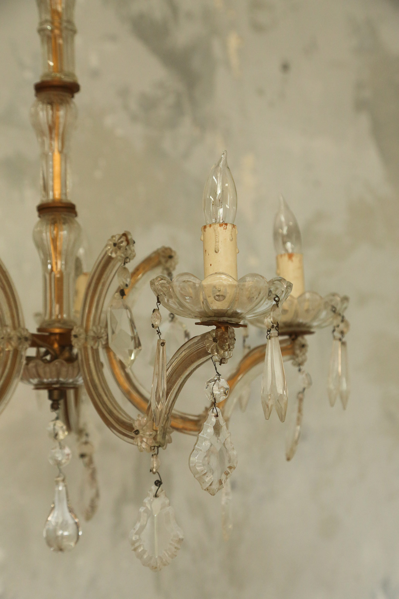Chandelier Antique Venetian  France early 1900's.jpg
