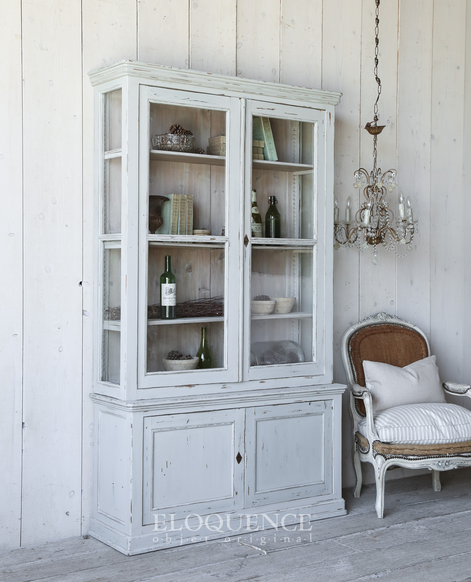 Gustavian Armoire Antique. Beautiuful bluegreen finish.jpg