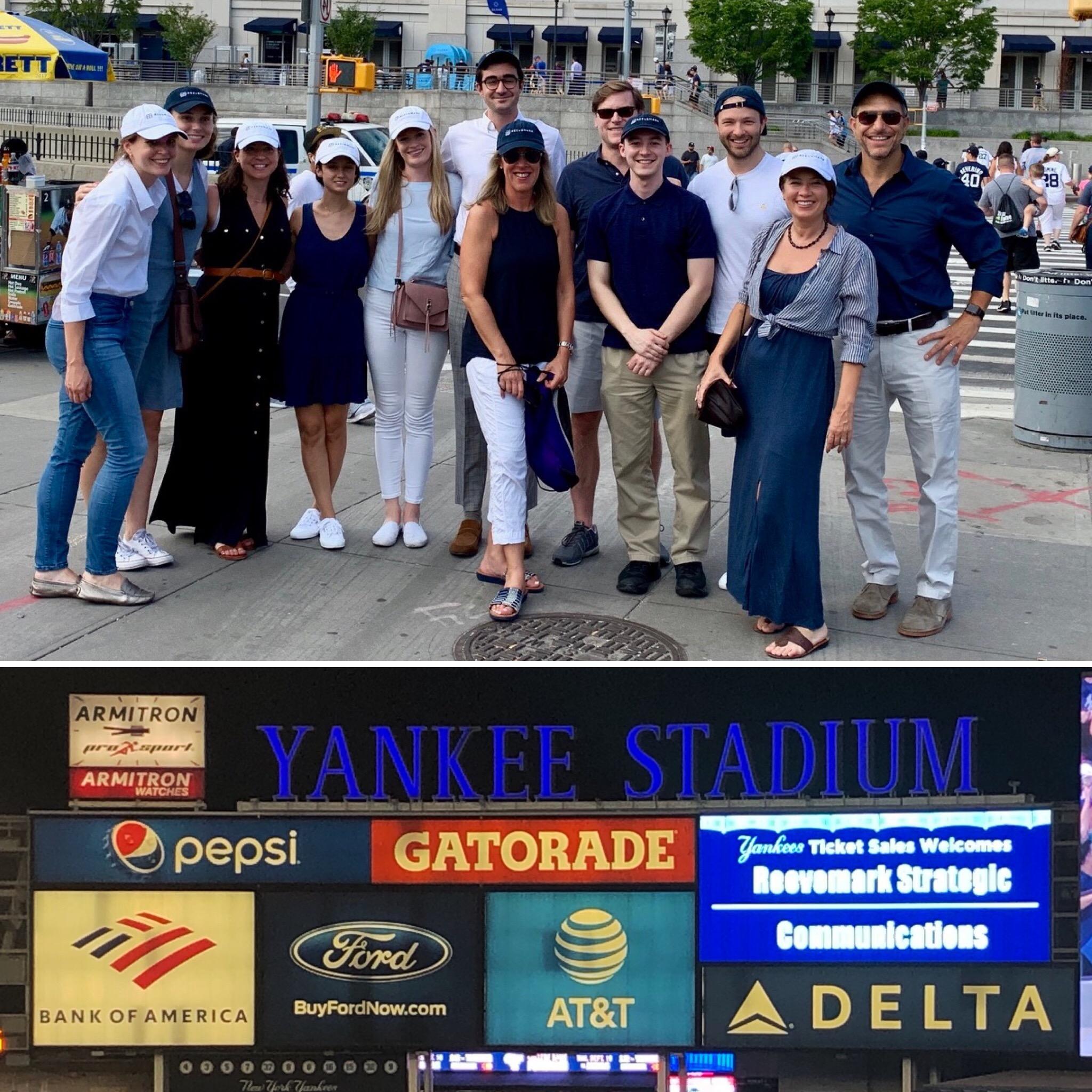 Reevemark's Summer Outing at Yankee Stadium