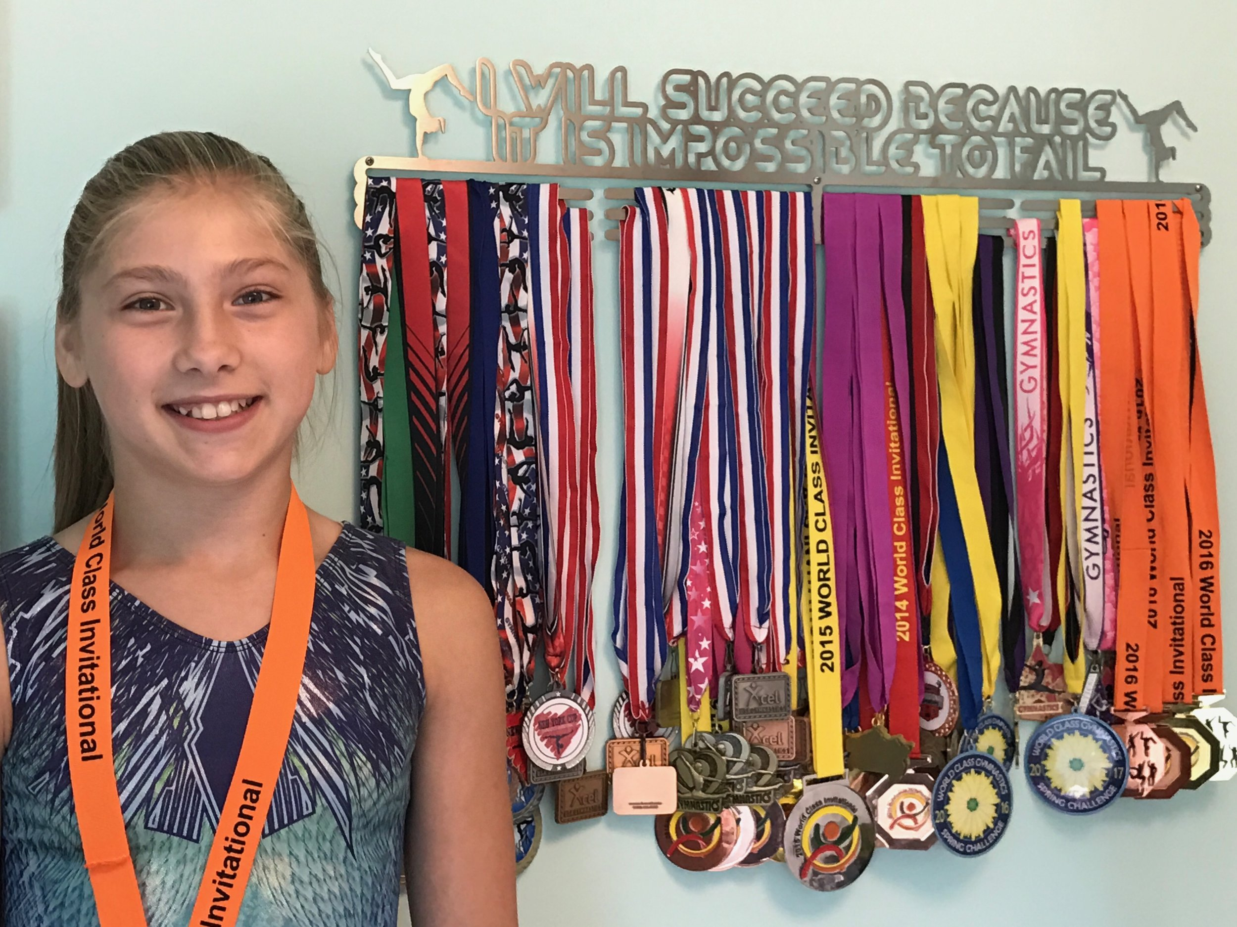 Calla, 12 year old gymnast, NY