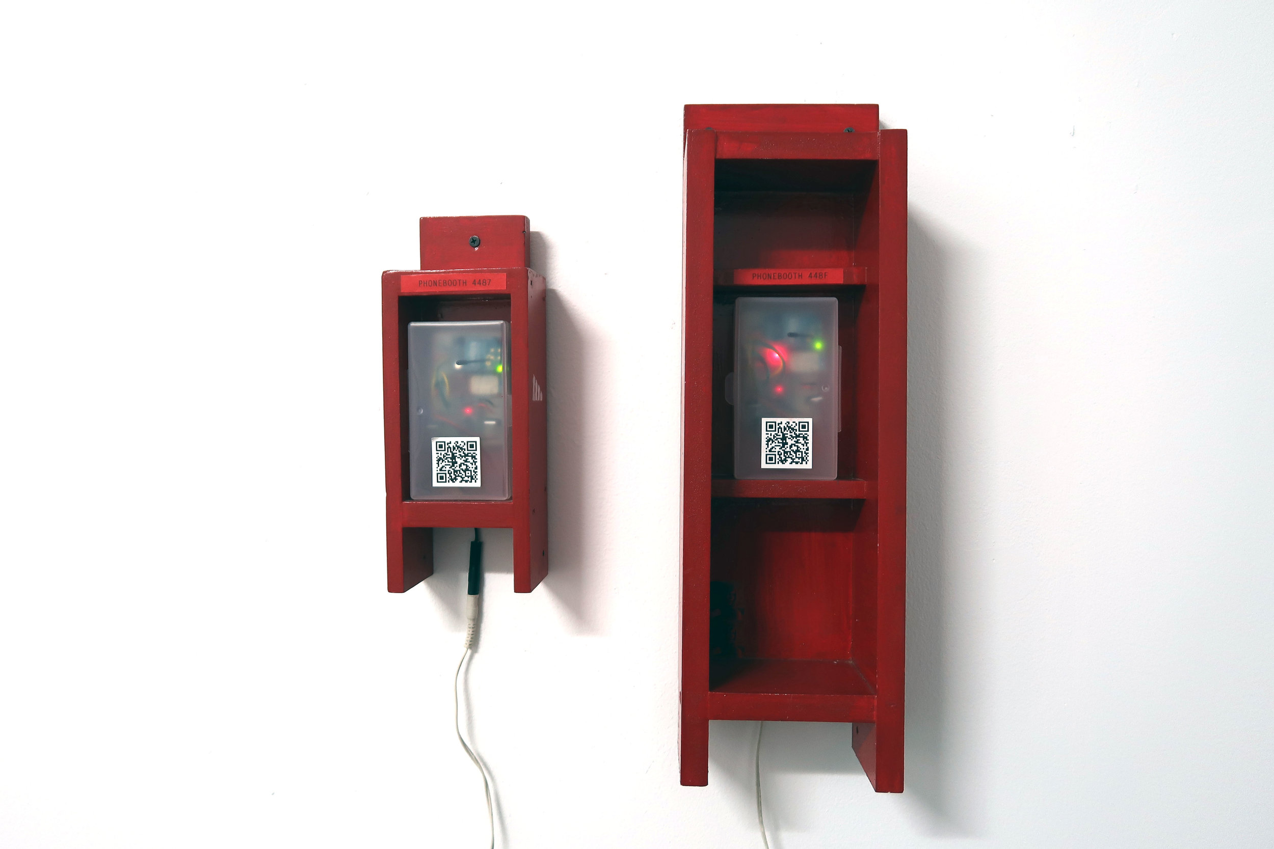 Amelia Marzec . Signal Strength and the Community Phone Booth (2012)