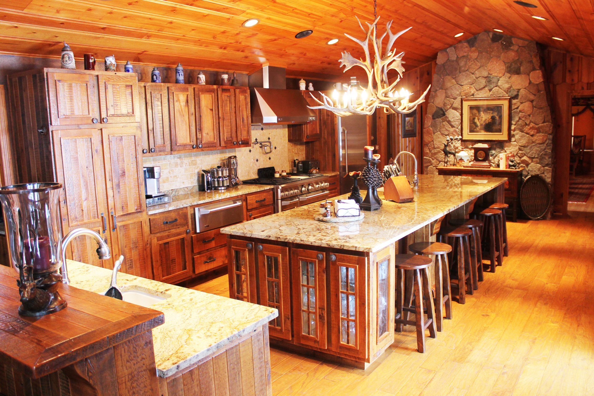 Hudson style cabinets.