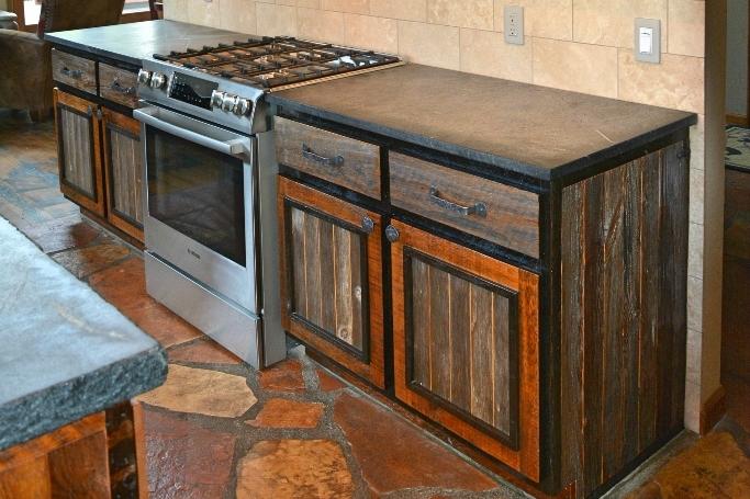 Silverado style cabinets.