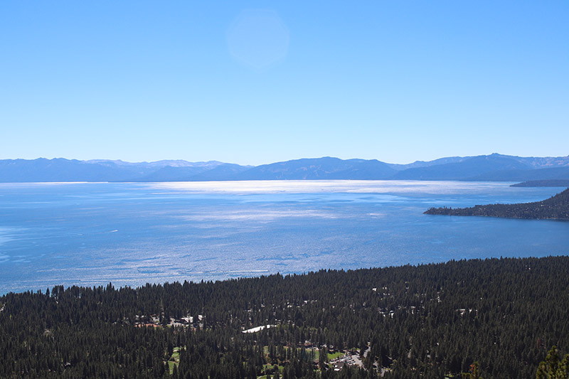 I, for one, will miss the Outdoor Demo and this view of Lake Tahoe.