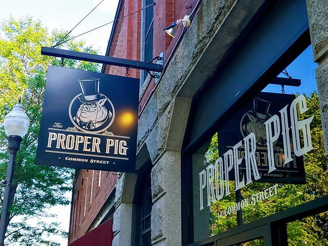 Looks like another beautiful afternoon for a three-hour happy hour. See you at 3pm :) #realproperpig #watervillemaine #maine #drinklocal #beer #mainebeer