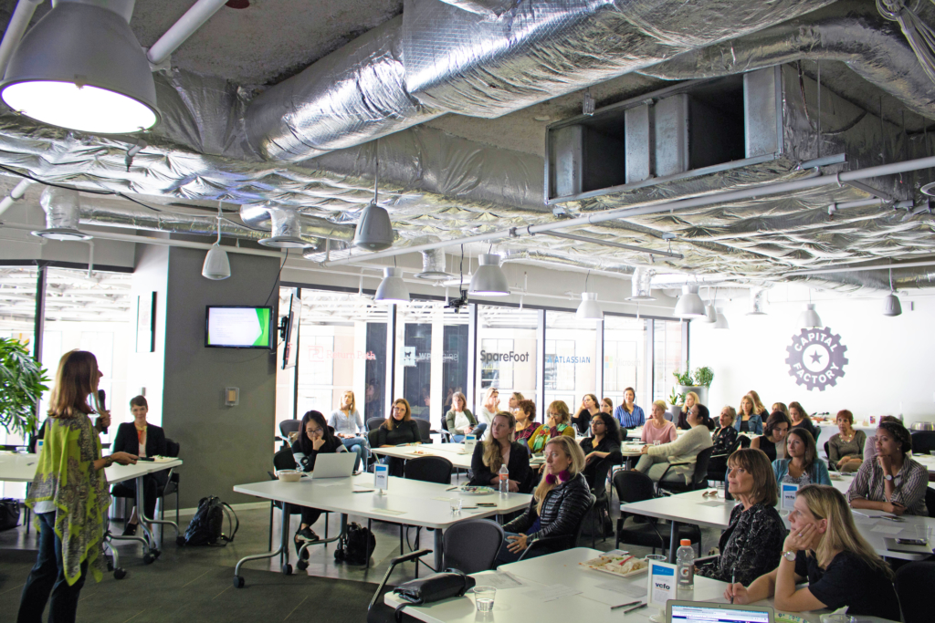 Photo from W@A's October Roundtable
