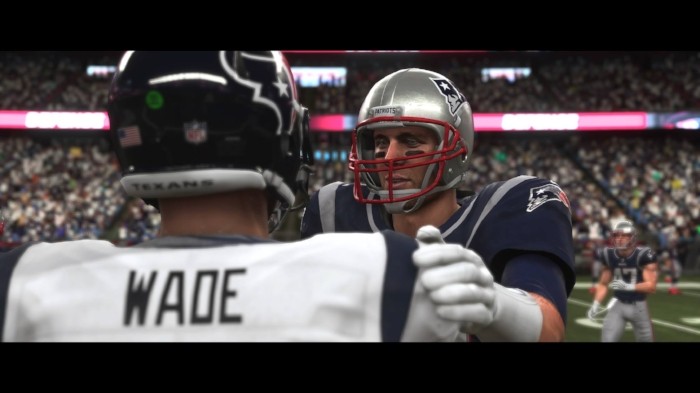 Tom Brady both looks terrible and is terrible in his short, boring  Longshot  cameo.