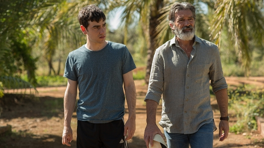 Àlex Monner and Antonio Banderas in  Life Itself  | FILM NATION ENTERTAINMENT - 2018