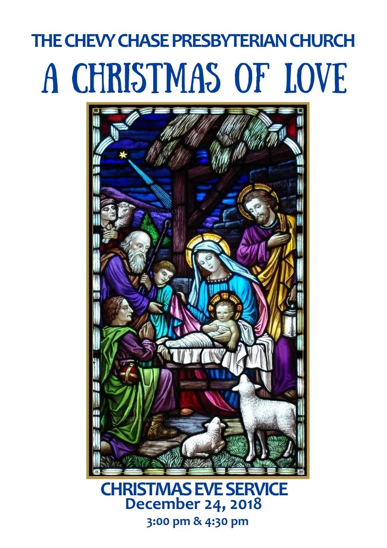 CHRISTMAS EVE 2018   Christmas Eve Family Service 2018