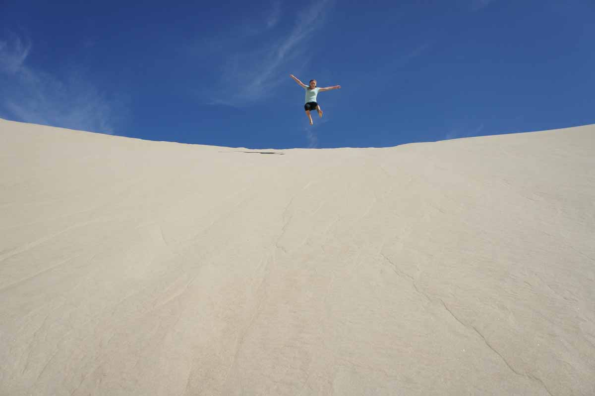 Day 5: After breakfast, climb a sand dune for a great view of the Bay and then head back to La Paz