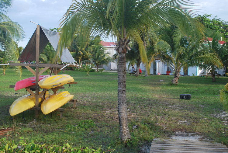 In between activities, take out a kayak to explore the waters around St. George's Caye