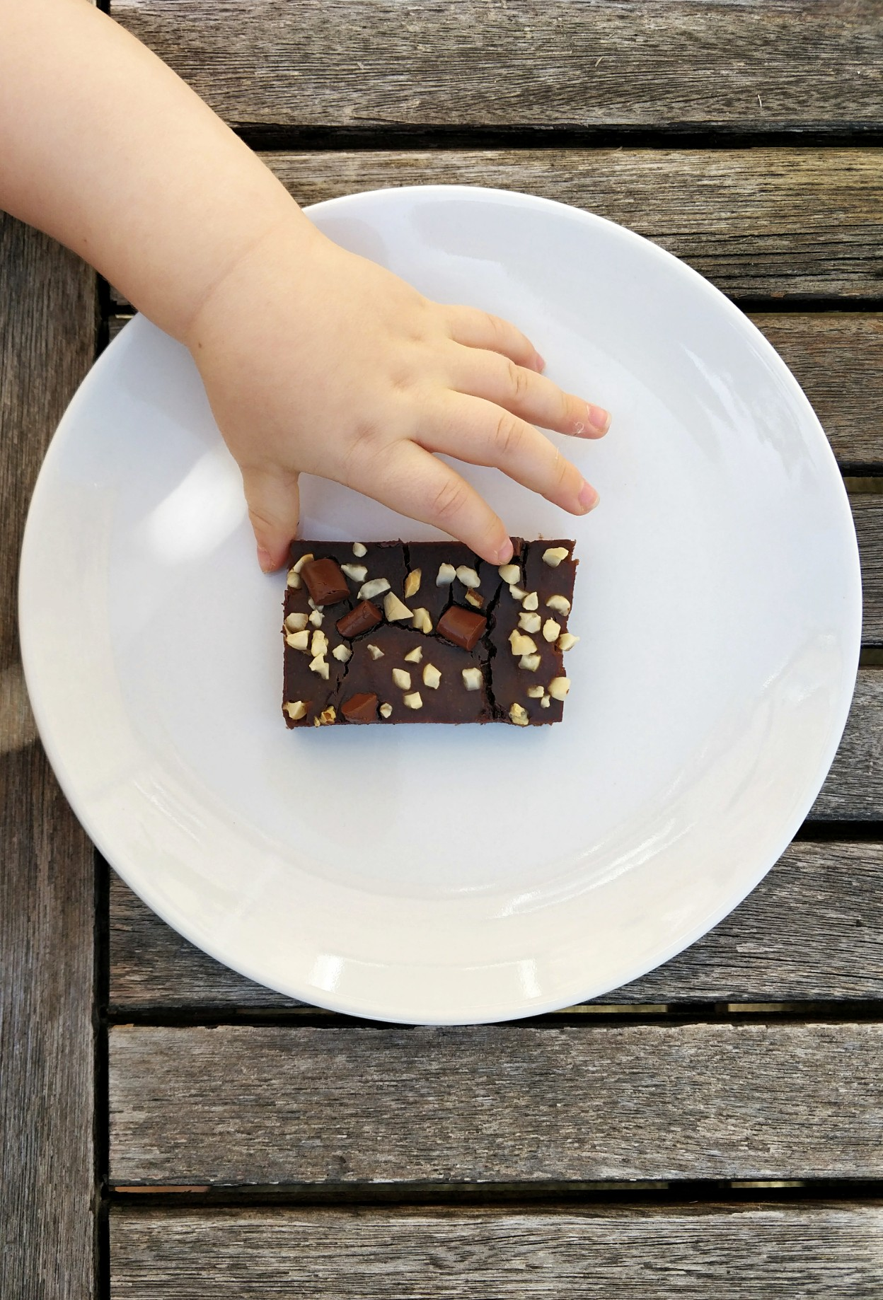 Healthy black bean, sweet potato and banana brownies. Sugar free, dairy free and soy free for picky eaters