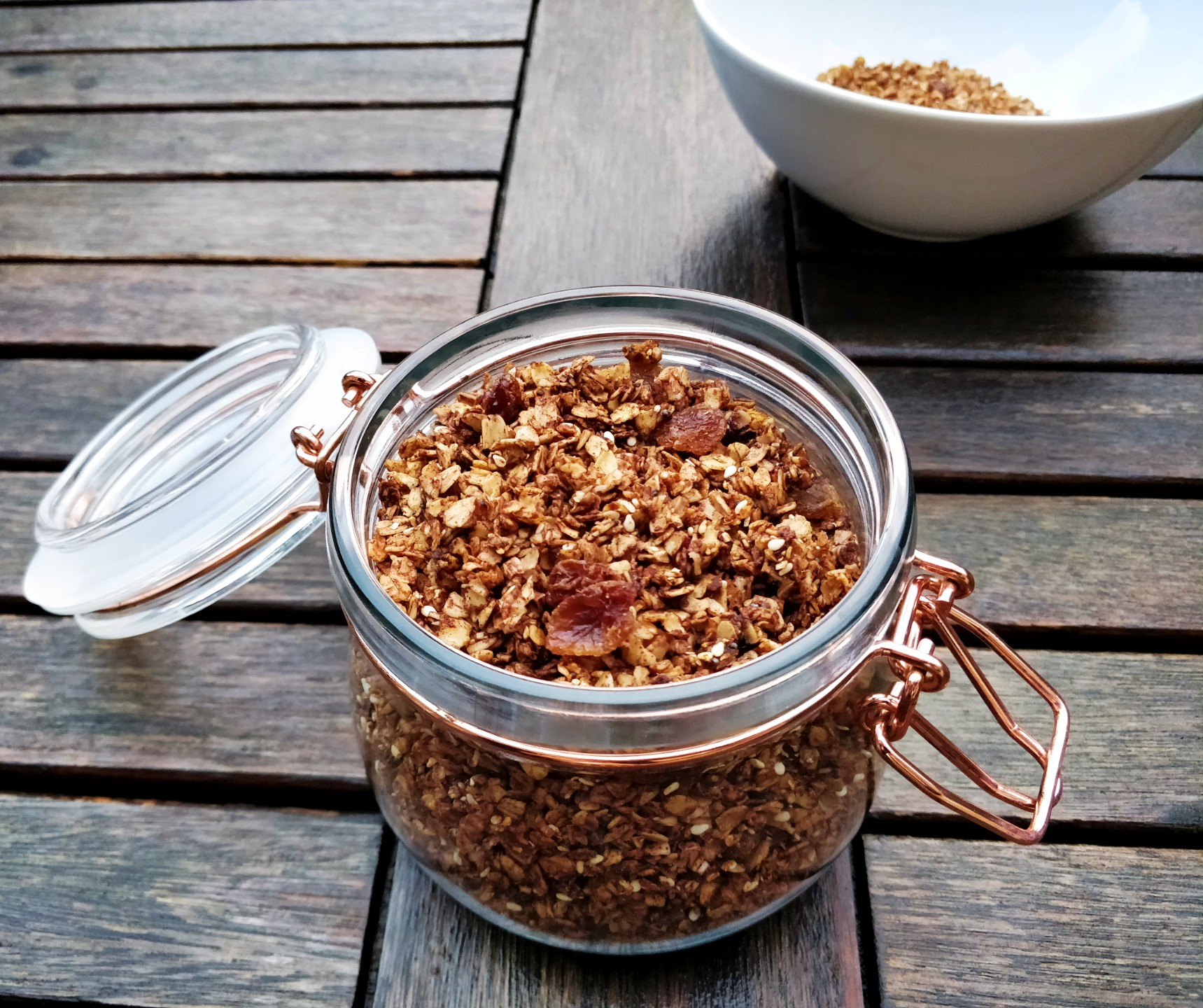 Dairy free soy free breakfast cereal recipe
