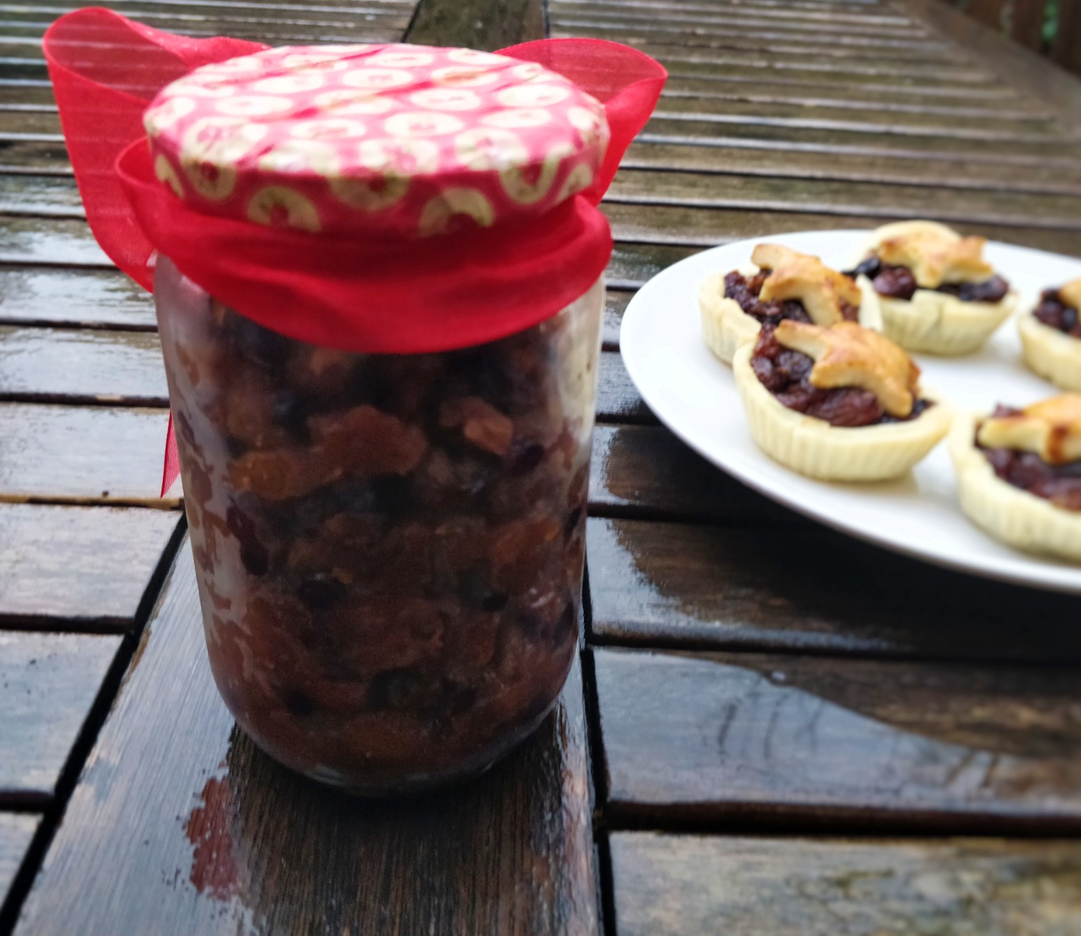 Dairy free sugar free mince meat for mince pies