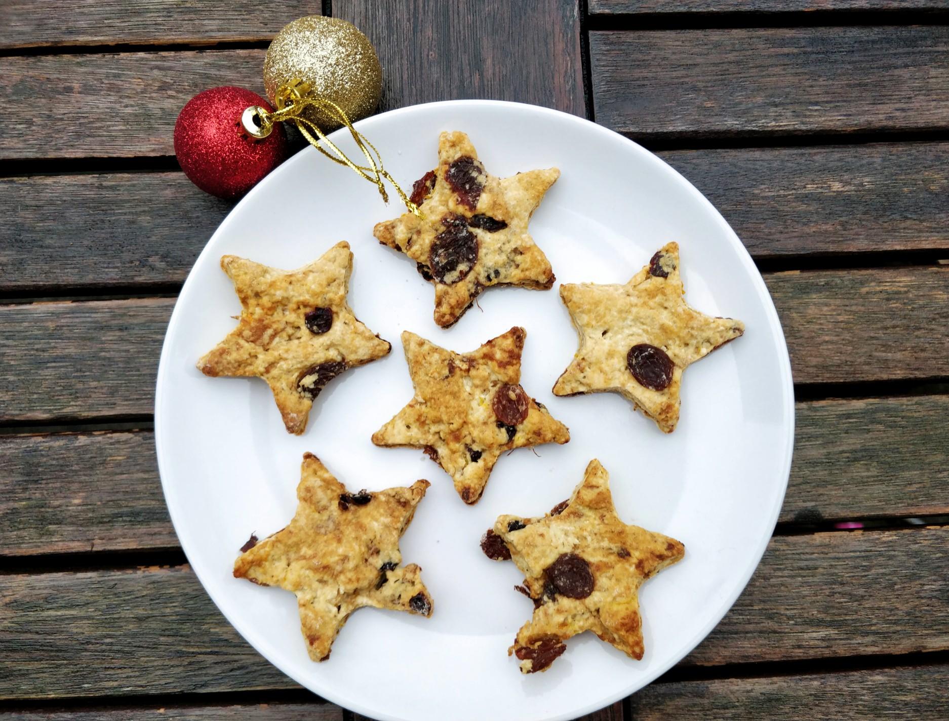 Healthy dairy free Christmas cookies