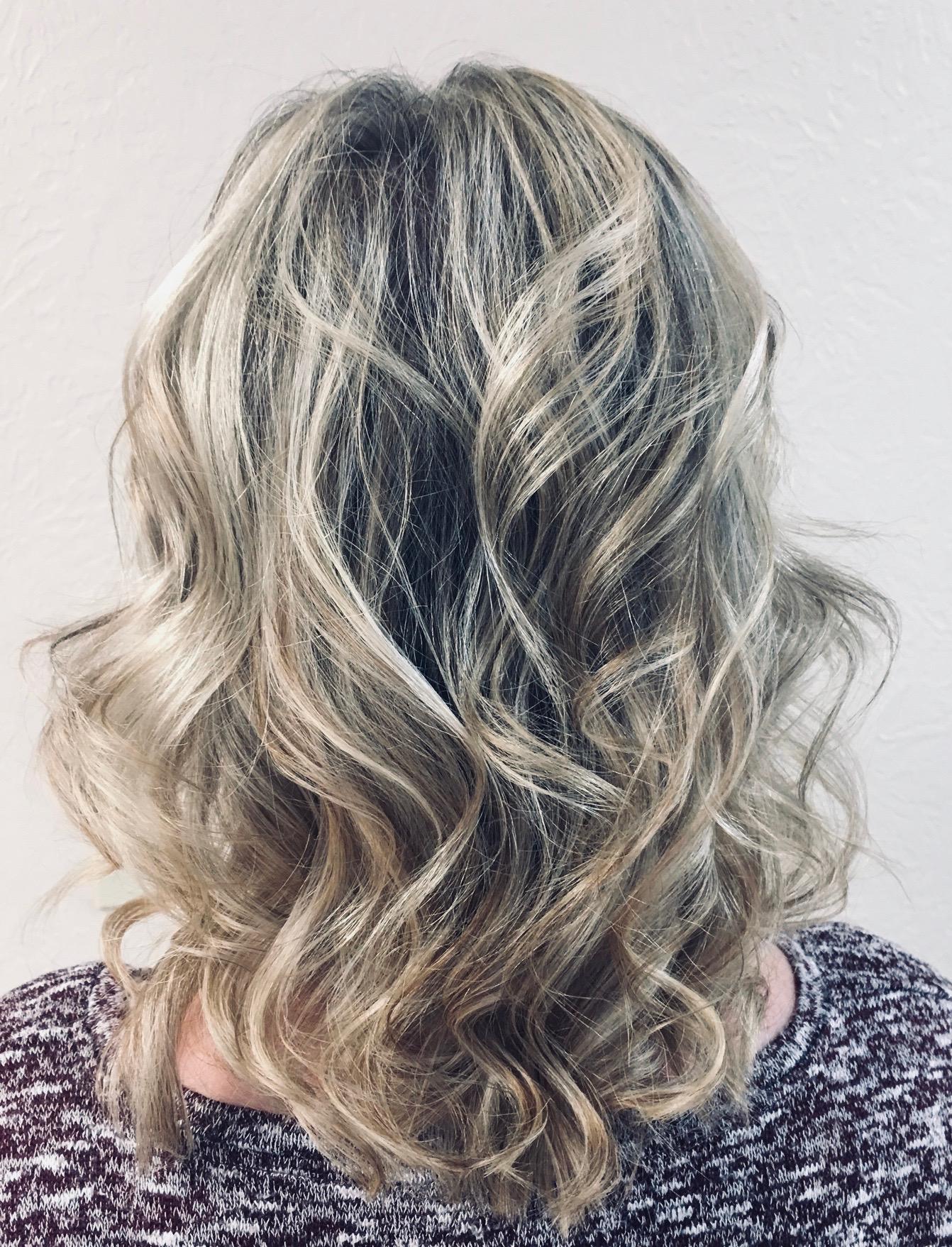 Highlights by Jacki Kuehne, hair stylist, Hudson, OH