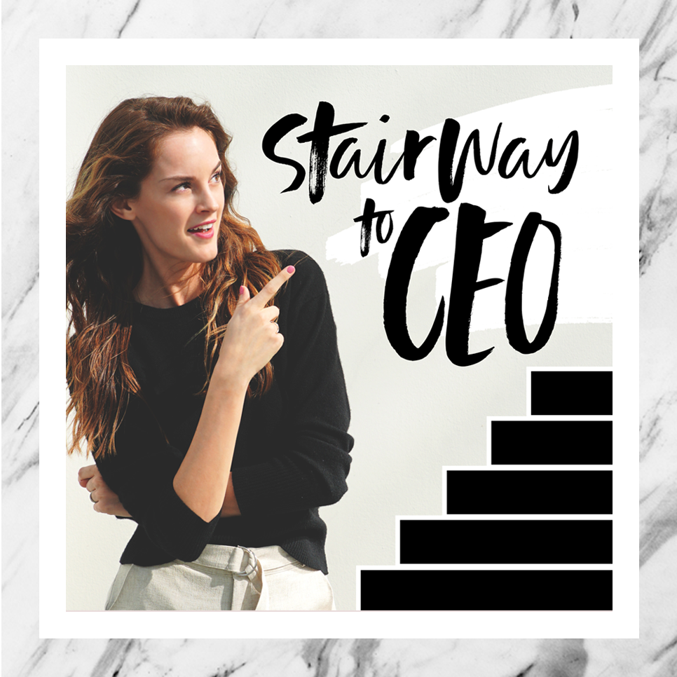 Subscribe - Meet my new podcast: Stairway to CEO. Because there's no elevator to success, my friends! Listen in on some amazing untold stories from inspiring founders to discover what it takes to start and grow a business. We get real about the good, the bad, the ugly and the beautiful. From first hires and fires to getting that first check from an investor, we are digging into it all, no holding back.