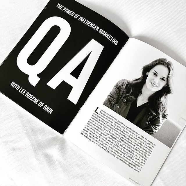 Hot off the press! Thanks @retailnext for interviewing me about the power of influencer marketing for your amazing magazine! 🤓😎 . . . #grin #retailnext #magazine #interview #business #influencermarketing #retail #rewritingtherules #thoughtleadership #buildingabrand #influencertrends