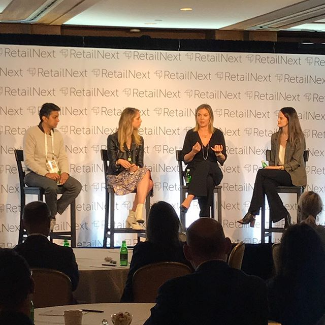 #throwback to when I hosted a panel at the @retailnext Executive Forum in Monterey with these amazing thought leaders 🙌🏻🤓 @caivka @theiconery @cynthiarowley @lolliandpops @shoplastbrand . . . #retailnextexecutiveforum #buildingabrand #influencermarketing #influencertrends #dataanalytics #transparency #thoughtleadership #panel